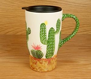 Tampa Cactus Travel Mug