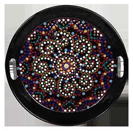 Tampa Mosaic Mandala Tray