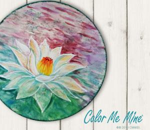 Tampa Lotus Flower Plate