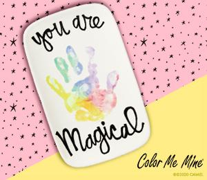 Tampa Rainbow Hand-print