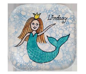Tampa Mermaid Plate