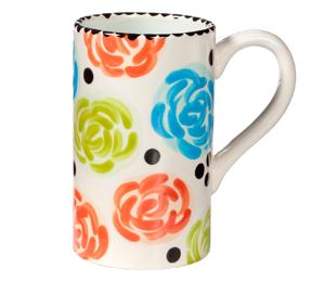 Tampa Simple Floral Mug