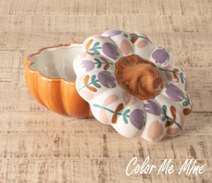 Tampa Floral Pumpkin Box