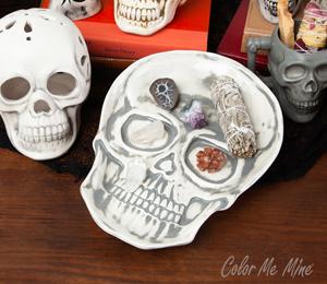Tampa Vintage Skull Plate
