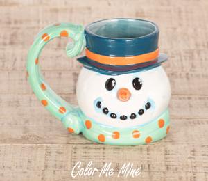 Tampa Snowman Mug